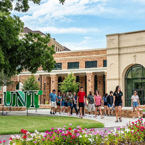 UNT's new welcome center