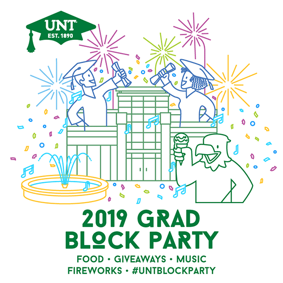 2019 UNT Grad Block Party