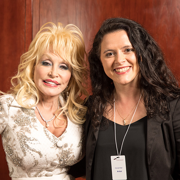 Dolly Parton and Lindsey Miller