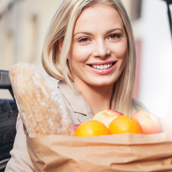 Stock photo: grocery shopping