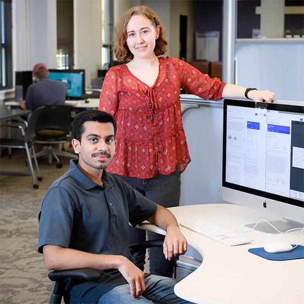 Sandesh Somashekhar and Sidney Hartz