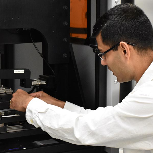 UNT professor Sundeep Mukherjee has formed a partnership with a professor in India to create the Indo-U.S. Joint Center for Development of Durable Advanced Materials for Bioimplants.