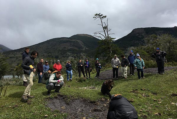 Leading conservation research in Chile