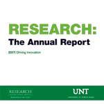 UNT's 2017 Research Annual Report