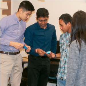 TAMS students win invention