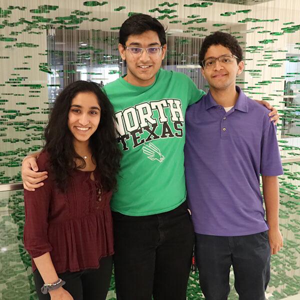 Mira Patel, Ritik Patnaik and Rishi Shridharan
