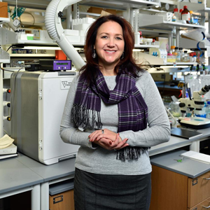 Pamela Padilla, UNT associate vice president for research and innovation